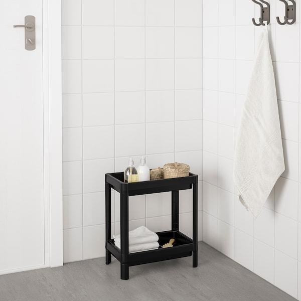 VESKEN Regal, schwarz, 36x23x40 cm