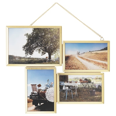 VESSIGE Collage-Rahmen für 4 Fotos 34 cm 29 cm