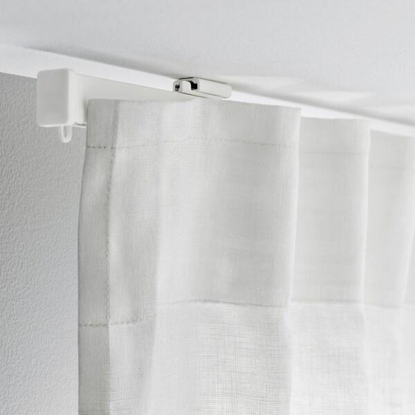 VIDGA Gardinenschiene 1-läufig, weiß, 140 cm