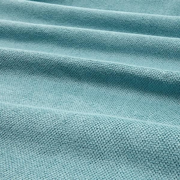 VIKFJÄRD Badelaken, hellblau, 100x150 cm