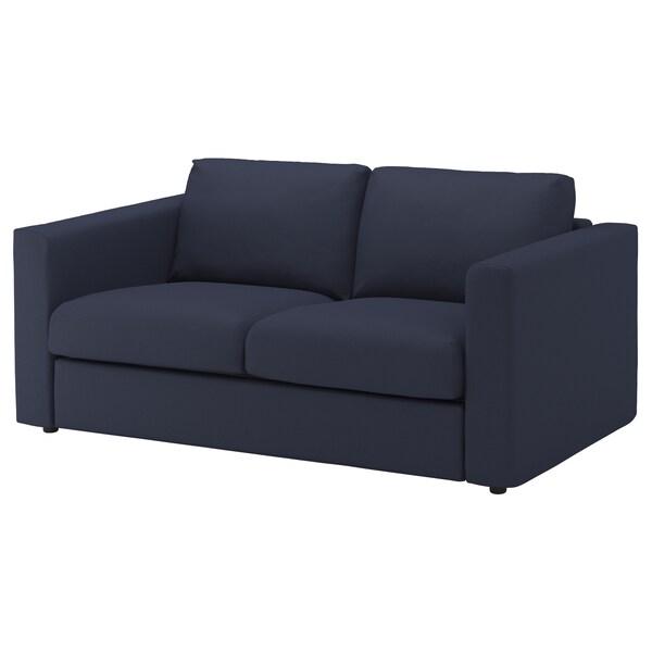 VIMLE Bezug 2er-Sofa, Orrsta schwarzblau