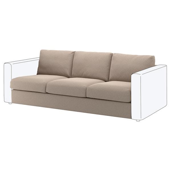 VIMLE Bezug Sitzelement 3, Tallmyra beige