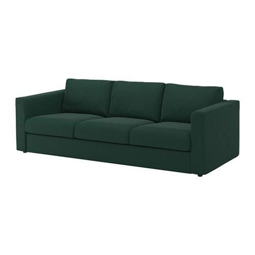 VIMLE 3er-Sofa - Gunnared dunkelgrün - IKEA
