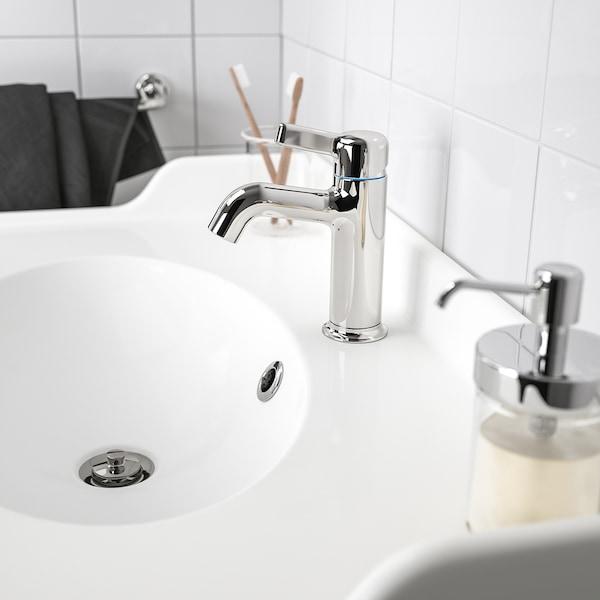 Voxnan Mischbatterie Mit Abflussventil Verchromt Ikea Osterreich