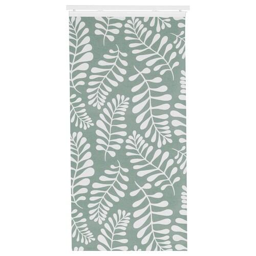 YRLA Schiebegardine grün/weiß 300 cm 60 cm 0.10 kg 1.80 m² 1 Stück