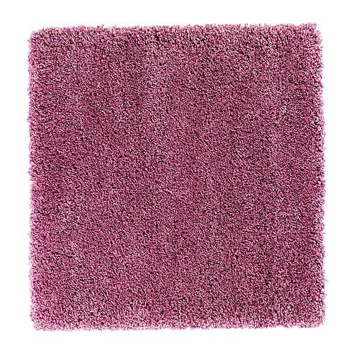 ABORG Rug, high pile IKEA The high pile provides a soft and warm surface for your feet and also dampens sound.