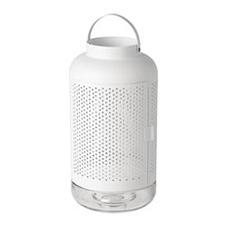 ÄDELHET lantern for block candle, white