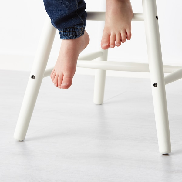 AGAM junior chair white 41 cm 43 cm 79 cm 28 cm 29 cm 52 cm