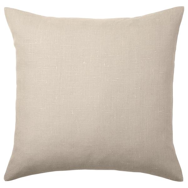AINA Cushion cover, beige, 50x50 cm