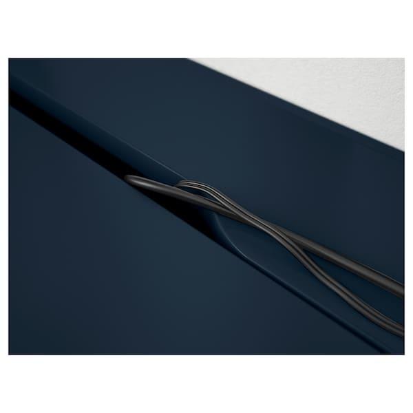 ALEX Desk, blue, 131x60 cm