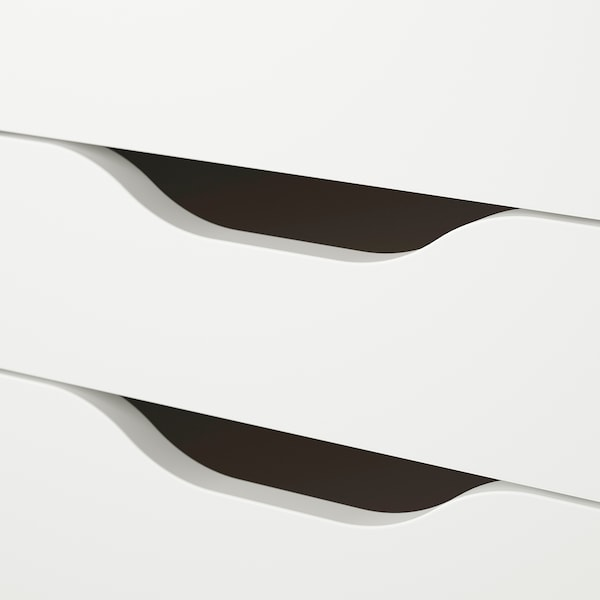 ALEX Desk, white, 132x58 cm