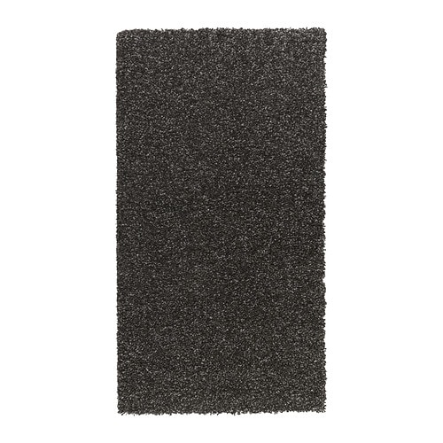 ALHEDE Rug, high pile IKEA The dense, thick pile provides a soft and warm surface for your feet and also dampens sound.