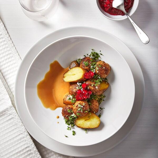 ALLEMANSRÄTTEN Meatballs, frozen, 84% meat content