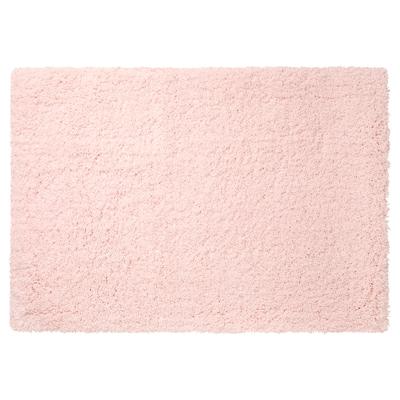 ALMTJÄRN Bath mat, pale pink, 60x90 cm