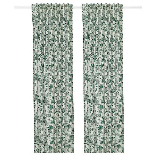 IKEA ALPKLÖVER Curtains, 1 pair