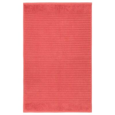 ALSTERN Bath mat, light red, 50x80 cm