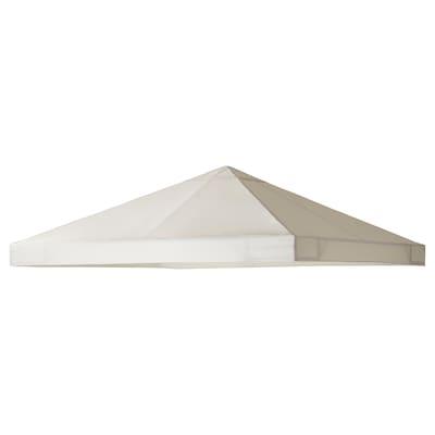 AMMERÖ Canopy for gazebo, beige