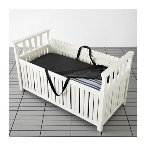 ngs toster bench with storage bag outdoor ikea. Black Bedroom Furniture Sets. Home Design Ideas