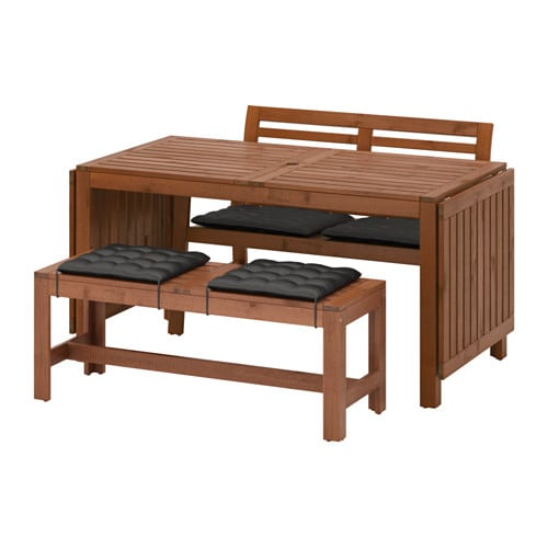 196 Pplar 214 Table 2 Benches Outdoor 196 Pplar 246 Brown Stained
