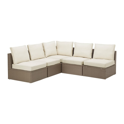 Arholma corner sofa 3 2 outdoor ikea - Ikea sofa exterior ...