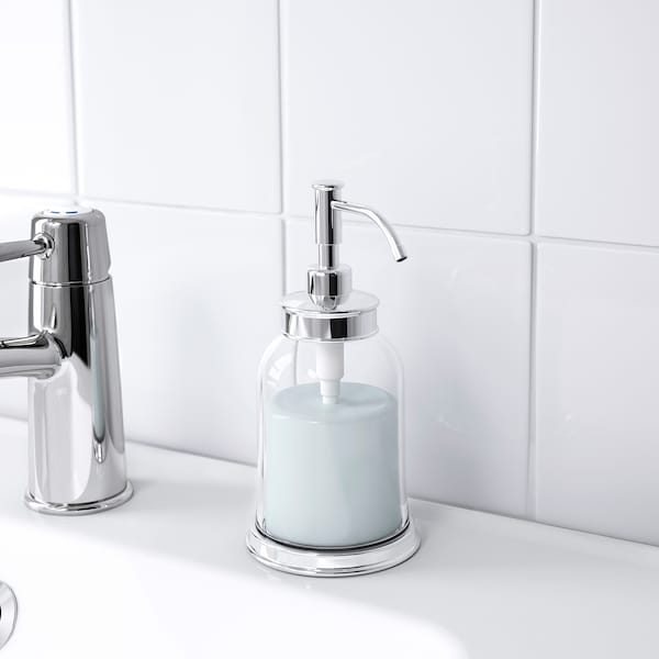 BALUNGEN soap dispenser chrome-plated 18 cm 300 ml