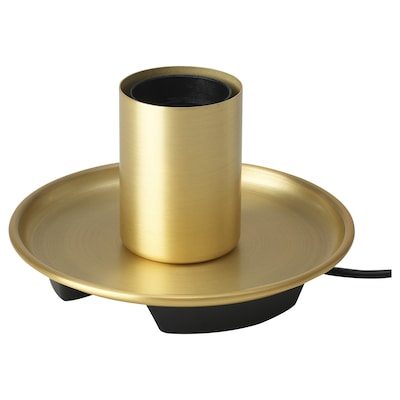 BARALUND Table lamp, brass-colour