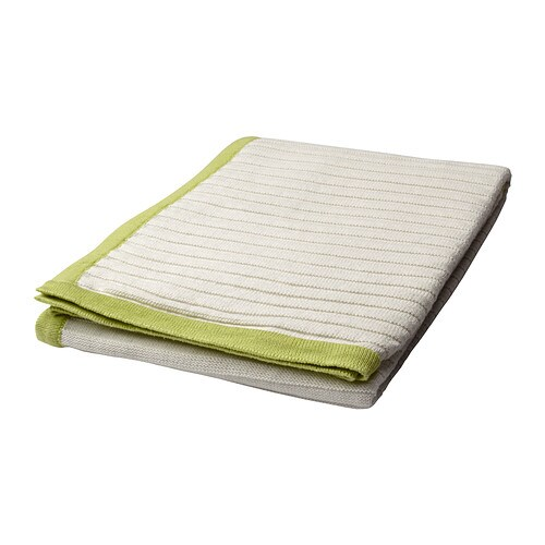 BARNKÄR Blanket IKEA Cotton, soft and nice against your child's skin.  You can use the blanket on top of a sheet or inside a quilt cover.