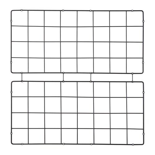 BARSÖ Trellis, squared pattern, black