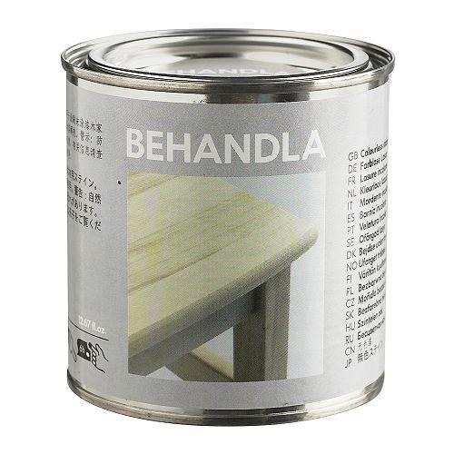 BEHANDLA Glazing paint - colourless, - IKEA