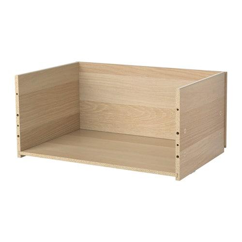 best 197 drawer frame white stained oak effect ikea