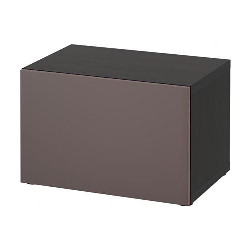 BESTÅ Shelf Unit With Door   White Stained Oak Effect/Valviken  Grey Turquoise   IKEA