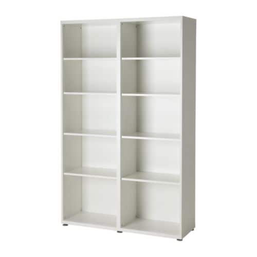 BESTÅ Shelf unit IKEA 8 adjustable shelves; adjust spacing according to your needs.  Adjustable feet; stands steady also on an uneven floor.