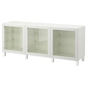 Colour: White/sindvik light grey clear glass.