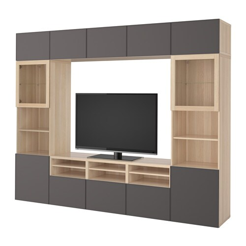 Awesome Living Room Storage System #2: Besta-tv-storage-combination-glass-doors-grey__0493866_PE626532_S4.JPG