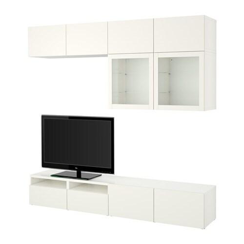 Best 197 Tv Storage Combination Glass Doors Lappviken
