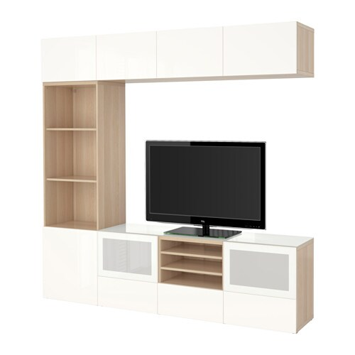 Ikea Pax Schrank Gebraucht Kaufen ~ BESTÅ TV storage combination glass doors IKEA The drawers and doors