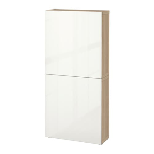 Besta Wall Cabinet Weight : BEST? Wall cabinet with 2 doors IKEA You can choose to use either the