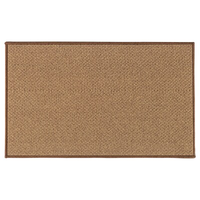 BIERSTED Door mat, in/outdoor natural, 50x80 cm
