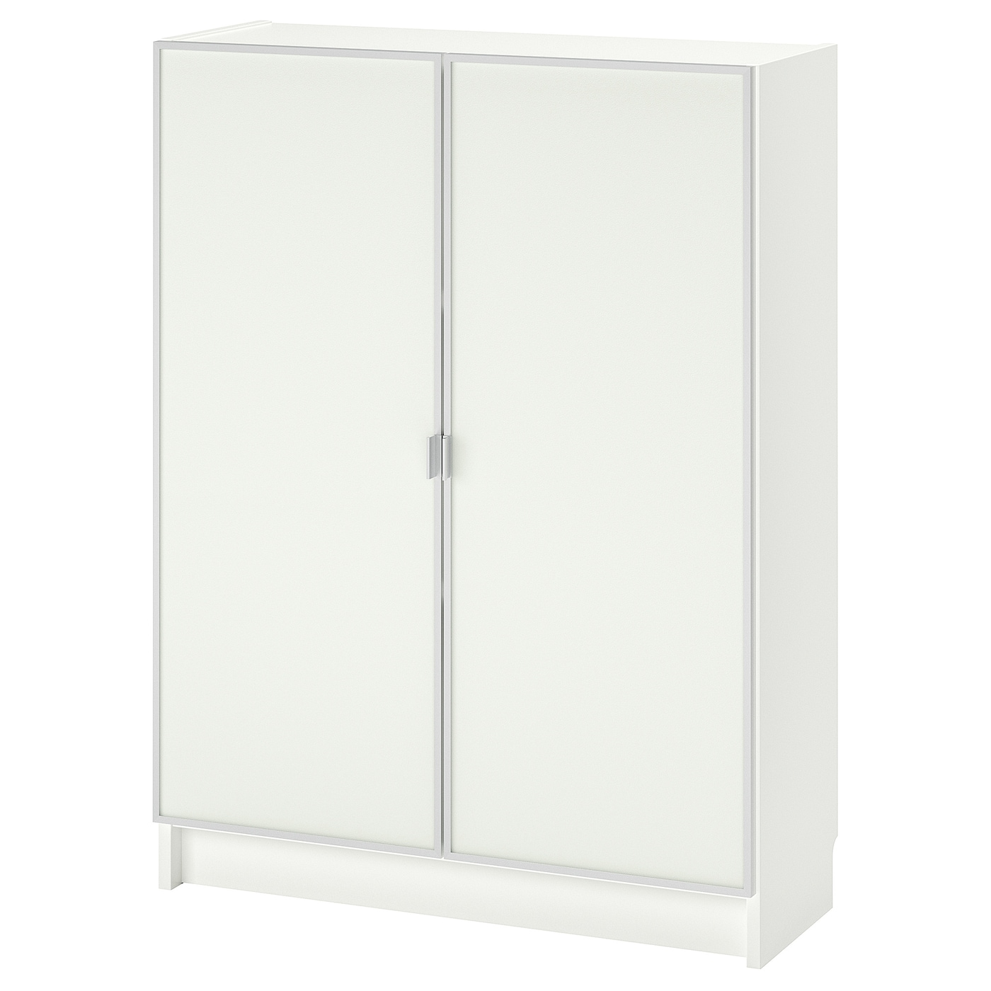 Billy Morliden Bookcase With Glass Doors White Glass