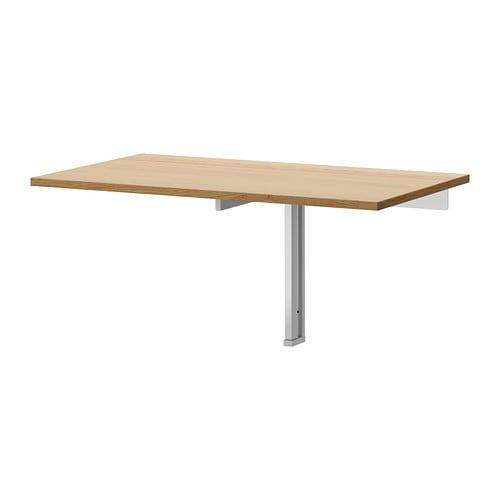 bjursta wall mounted drop leaf table ikea. Black Bedroom Furniture Sets. Home Design Ideas