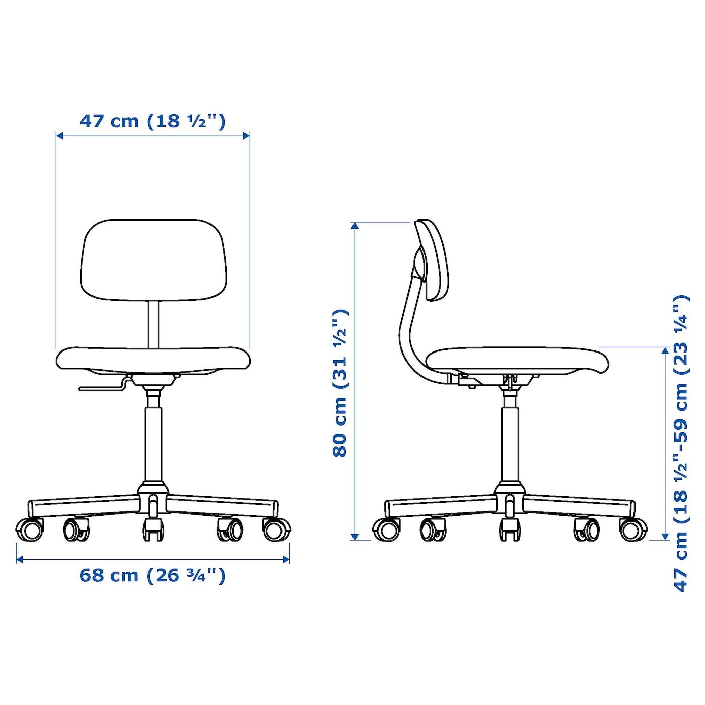 Bleckberget Swivel Chair Idekulla Beige
