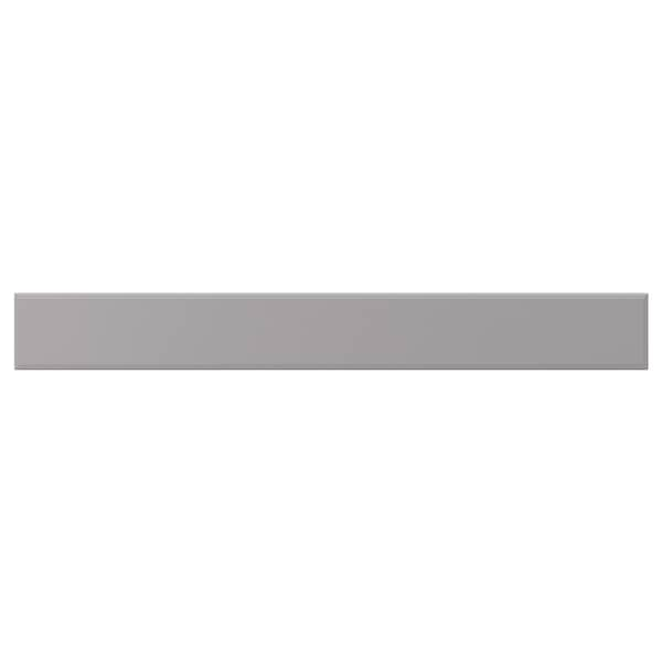 BODBYN Drawer front, grey, 80x10 cm