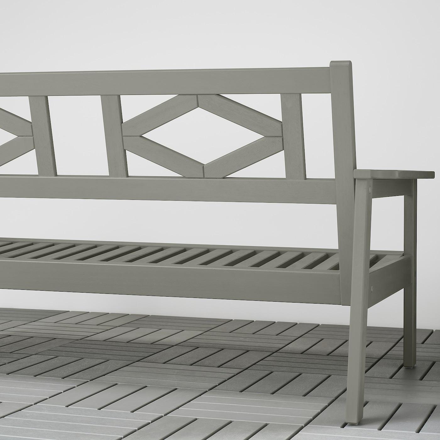 BONDHOLMEN 2-seat sofa, outdoor grey 139 cm 81 cm 73 cm 124 cm 62 cm 30 cm