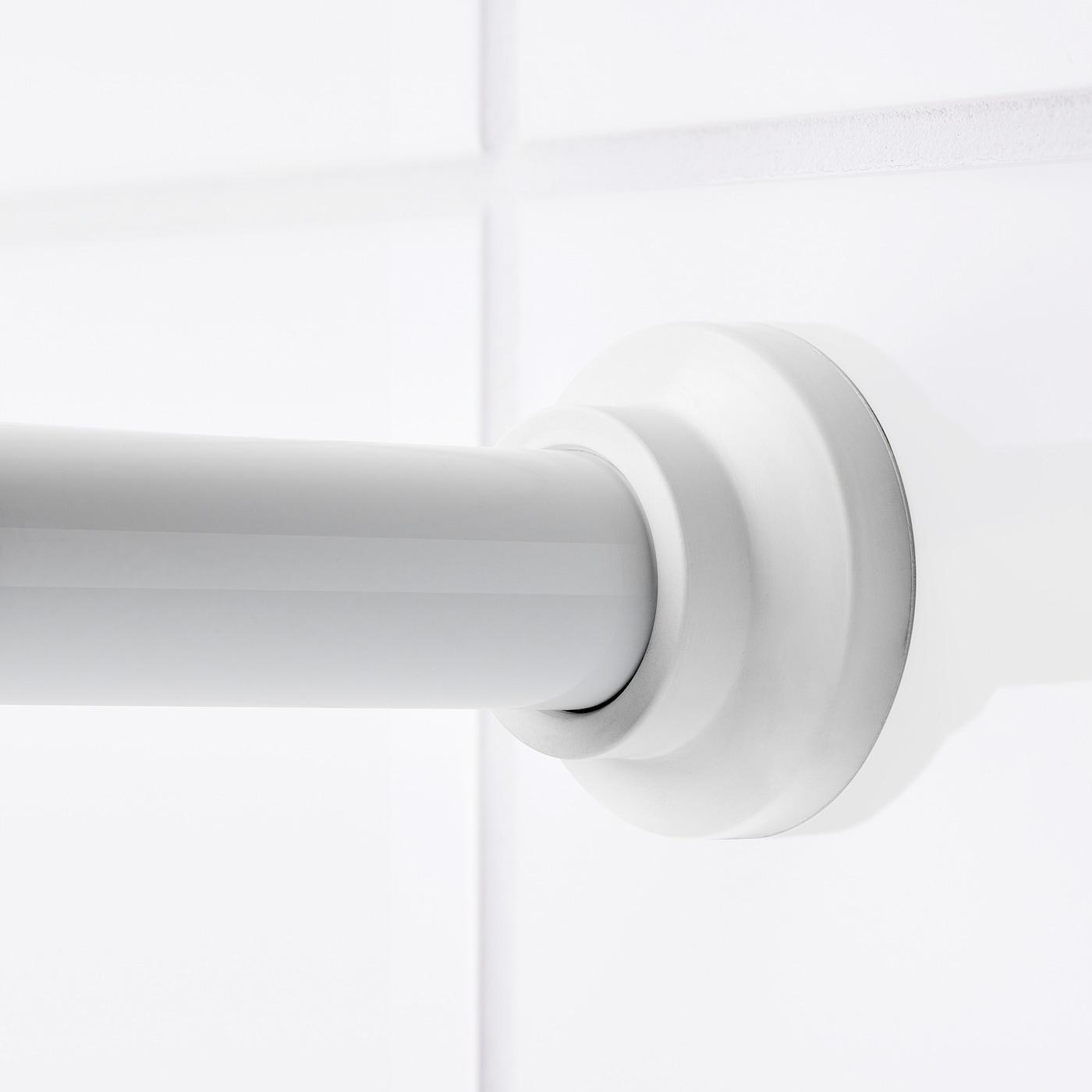 Botaren Shower Curtain Rod White 120 200 Cm Ikea