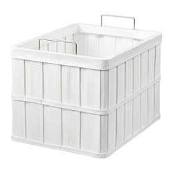 BRANKIS basket, white