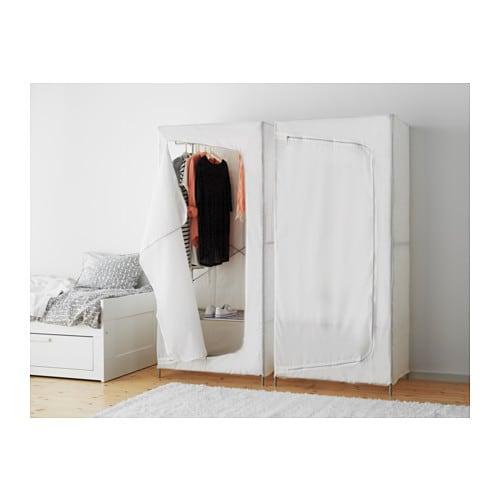 Breim Wardrobe White
