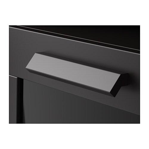 BRIMNES Bedside Table Black IKEA - Brimnes ikea bedside table