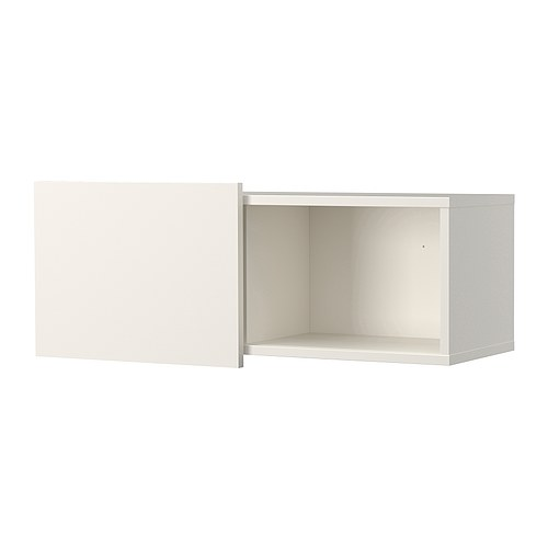 Ideas Ikea Para Espacios Pequeños ~ BRIMNES Wall cabinet with sliding door IKEA Wall mount above or beside