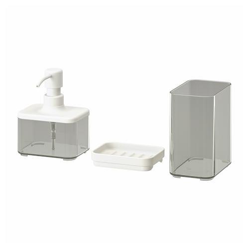 IKEA BROGRUND 3-piece bathroom set