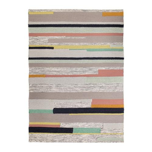 BRÖNDEN Rug, low pile, handmade multicolour